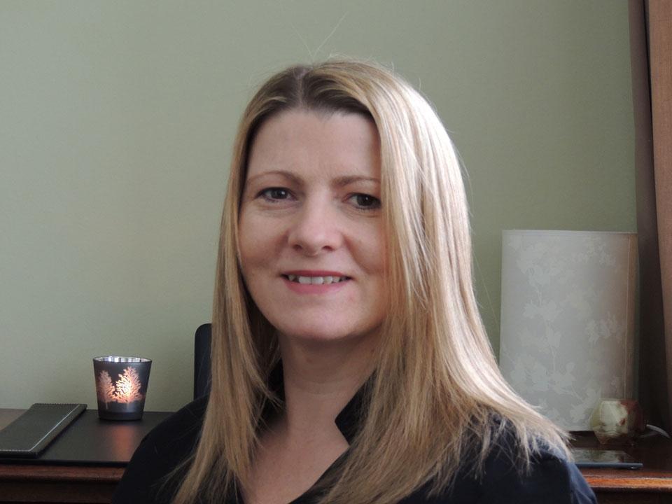 Sharon Coomber, reflexologist